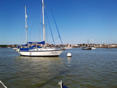 Mardet on Burnham mooring